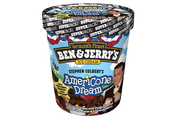 A Sneak Peek At The Election 2012 Edition Of Ben Jerry S Americone Dream Time Com Everyone knows ben & jerry's late night snack is the most delicious ice cream flavor for late night television and no flavor is more delicious. sneak peek at the election 2012 edition