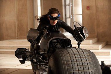 Anne Hathaway as Catwoman in The Dark Knight Rises (2012)