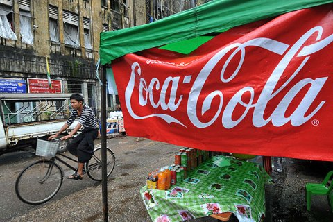 Coca Cola Burma