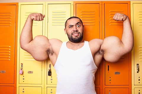 Largest Biceps