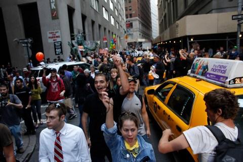 Occupy Wall Street Anniversary