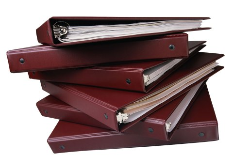image: Stack of Binders