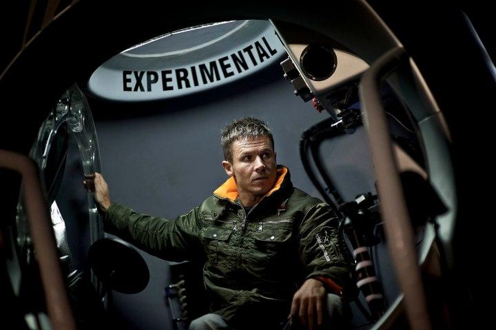 Felix Baumgartner's 18 Mile Space Jump