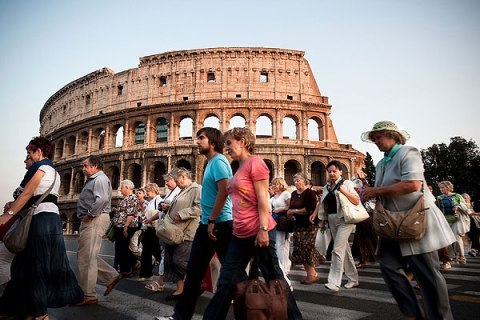 Rome - The City Of Tourists