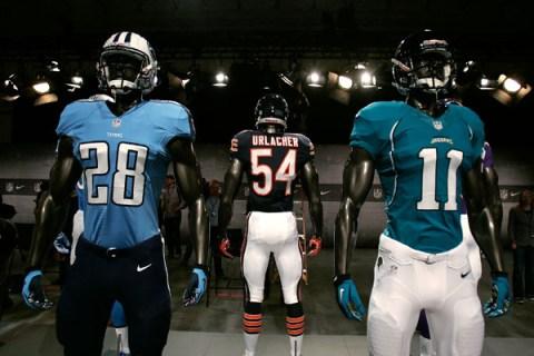 Nike Unveils New NFL Uniforms