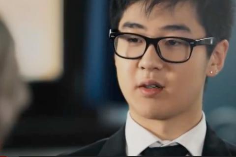 Kim Jong Il's grandson screengrab