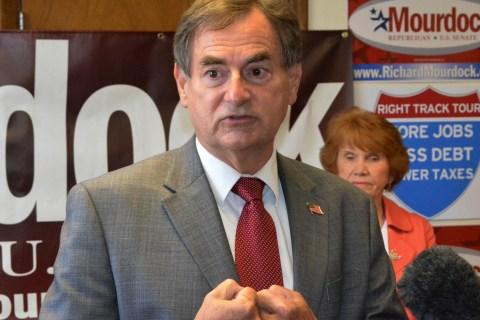 Indiana Republican U.S. Senate candidate Richard Mourdock