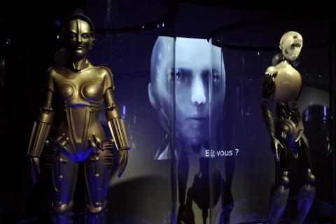 FRANCE-CULTURE-TECHNOLOGY-ROBOTS-EXHIBITION