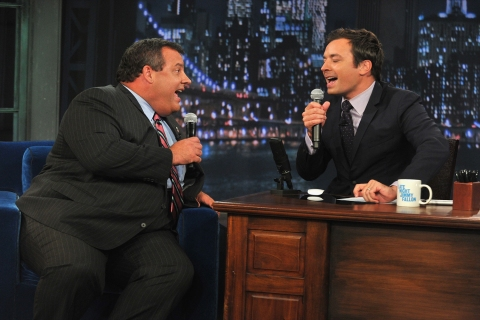 """Chris Christie Visits """"Late Night With Jimmy Fallon"""""""