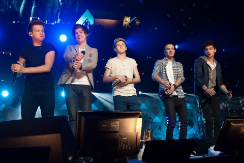 One Direction at Z100's Jingle Ball 2012 Presented By Aeropostale - Show