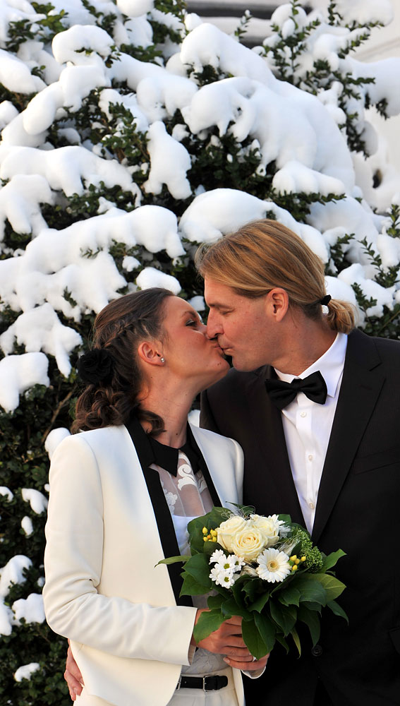 image: Veronica Kovacs and Jens Koch get married in Munich.
