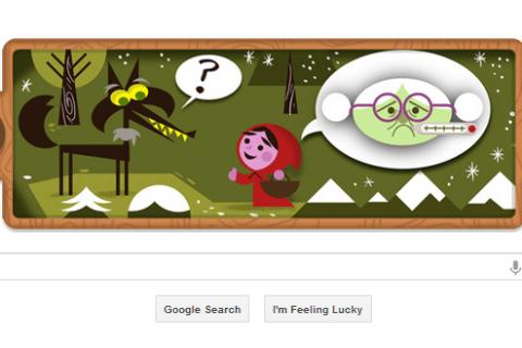 Google Doodle: Grimm Brothersa