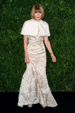 Image: Anna Wintour seen at the 58th London Evening Standard Theatre Awards, Sunday, Nov. 25, 2012, in London.