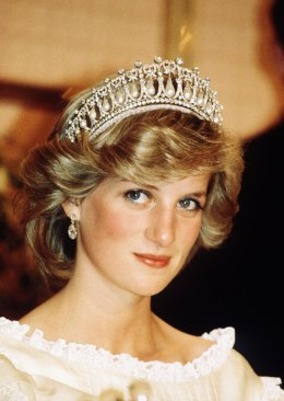 image: Princess Diana, Princess of Wales, in New Zealan, April 1983.