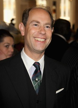 image: Prince Edward, Earl of Wessex attends a reception at Diamond Jubilee Reception at Guildhall in London, June 5, 2012.