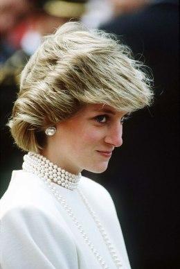 image: Princess Diana, Princess of Wales, in Canada in June 1983.