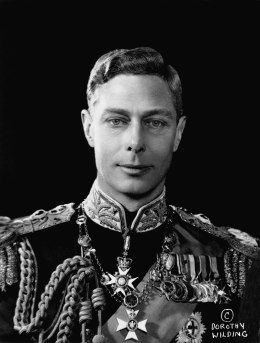 image: King George VI, King of Great Britain and Northern Ireland.