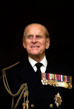 image: Prince Philip, the Duke of Edinburgh, smiles as he visits the Admiralty Board and Admiralty House in central London, Nov. 23, 2011.