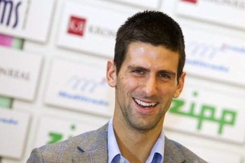 Novak Djokovic Visits Slovakia