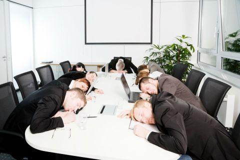 Sleepy Boardroom
