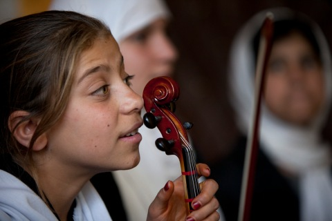 Afghanistan's Only Music High School In Kabul