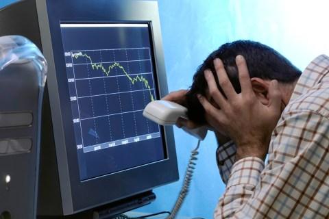 Desperate stock trader