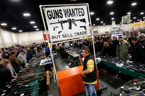 Inside The Rocky Mountain Gun Show As U.S. Congress Is Expected to Tackle Legislation on Gun Control