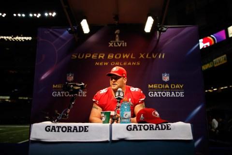 Super Bowl XLVII Media Day