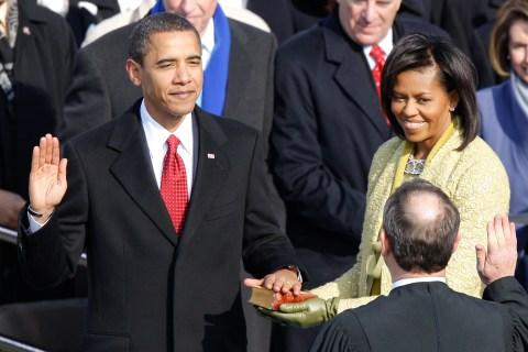 U.S. President Barack Obama Sworn In