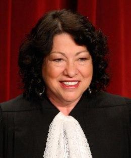 image: U.S. Supreme Court Justice Sonia Sotomayor