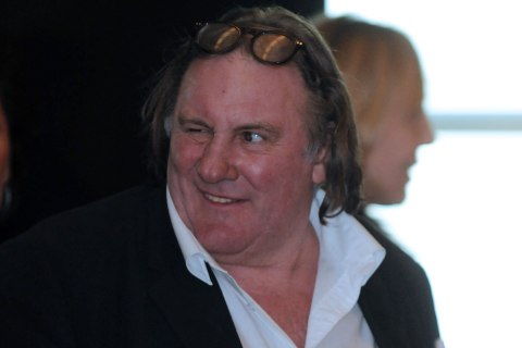 image: French actor Gerard Depardieu is seen in the luxurious Hotel Splendid, near Budva on the Adriatic coast of Montenegro, Jan. 8, 2013.
