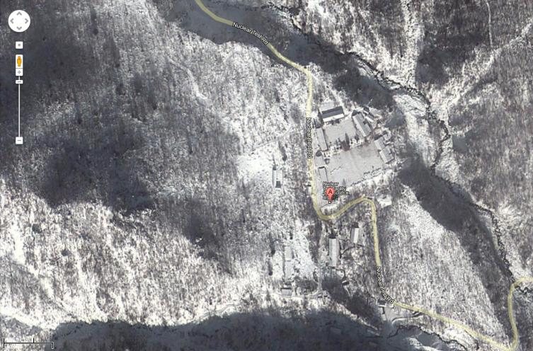 Nuclear Test Facility, North Hamgyong, North Korea.