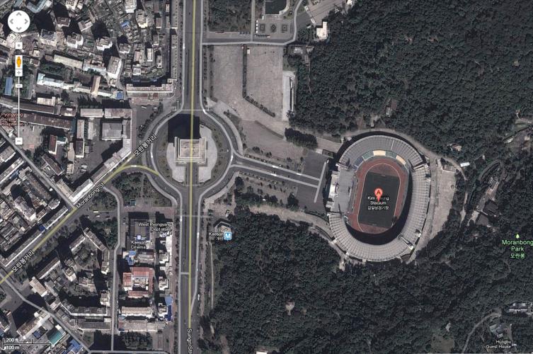 Kim il-Sung Stadium, Pyongyang, North Korea