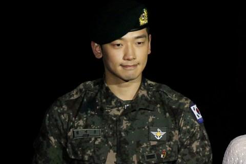 South Korean pop singer Rain