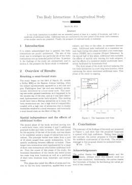 Brendan McMonigal proposed to Christie Nelan with this scientific paper presented on March 23, 2012.