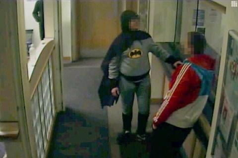 Bradford Batman captures wanted man