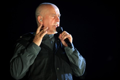 Peter Gabriel Performs At PH Live At Planet Hollywood Resort & Casino
