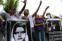 SRI LANKA-SAUDI-CRIME-PROTEST