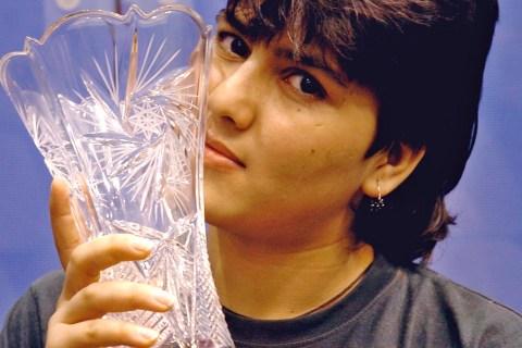 Maria Toorpakai Wazir in 2005