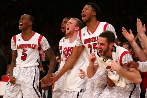 Big East Basketball Tournament - Syracuse v Louisville