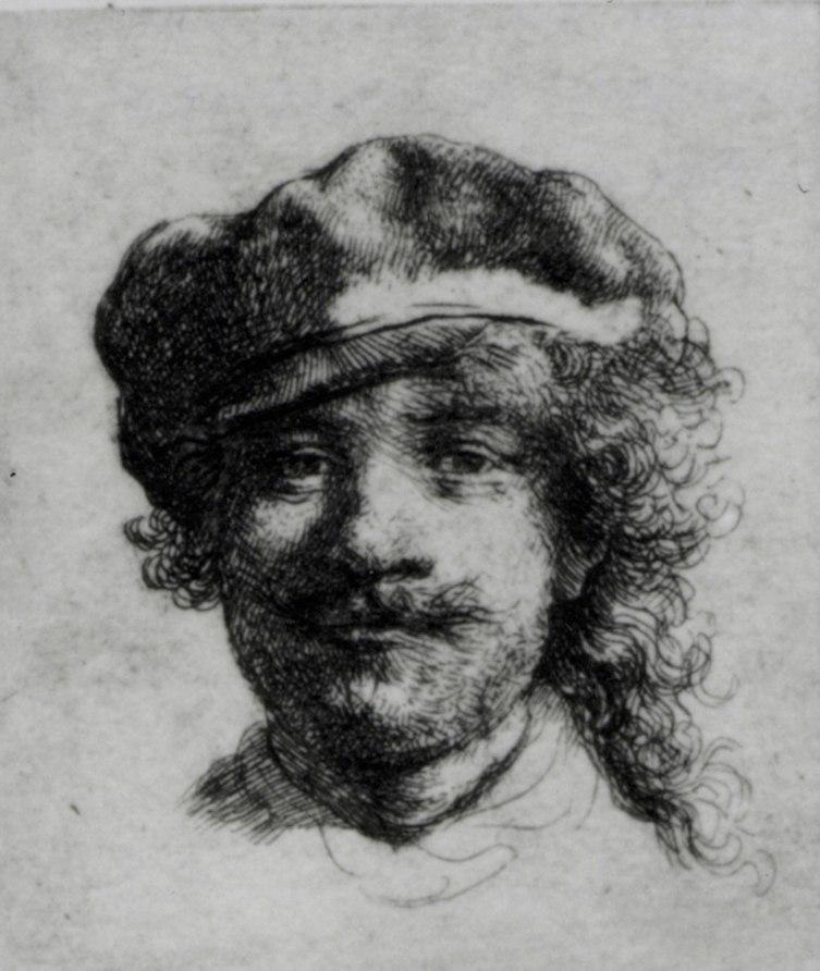 rembrandt_selfportrait_etch