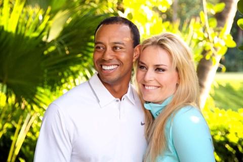 Skiing, Golf, Tiger Woods, Lindsey Vonn