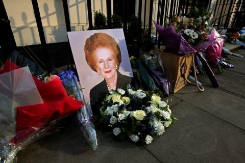 Former British Prime Minister Margaret Thatcher Has Died