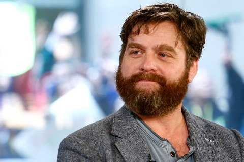 "Zach Galifianakis appears on NBC News' ""Today"" show in New York City, May 9, 2013."
