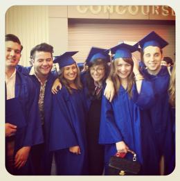 Instagram graduation