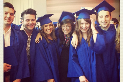 Instagram graduation