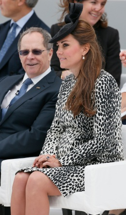 Britain's Catherine, Duchess of Cambridge attends a naming ceremony for the 'Royal Princess' cruise ship in Southampton, southern England