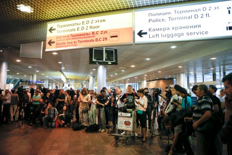 Whistleblower Edward Snowden Lands In Moscow As U.S. Seeks To Extradite Him