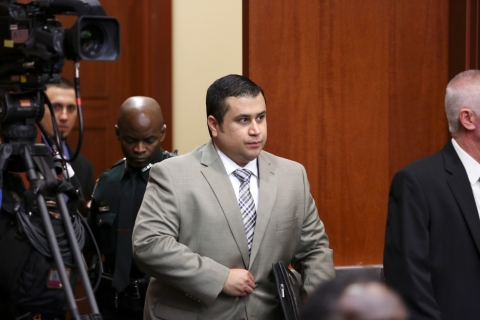 Image: George Zimmerman courtroom