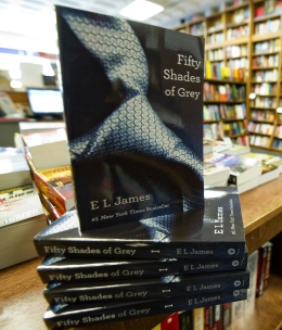 """Copies of the book """"Fifty Shades of Grey"""